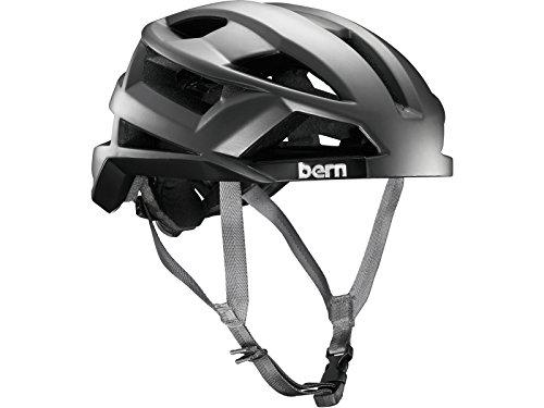 Bern FL-1 Pavé MIPS Satin Casco de Ciclismo, Unisex, Plateado, S
