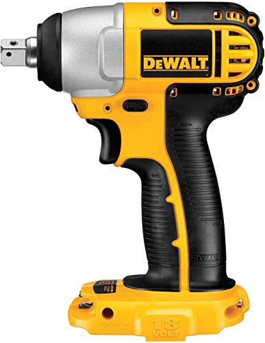 DeWalt DC820B 1/2 Inch 18V Cordless Impact Wrench (Tool Only)