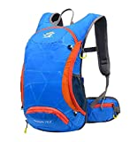 Skudy 15L Fahrradrucksack Wasserdicht Portable Outdoor Reiserucksack Unisex Sportrucksack Damen...