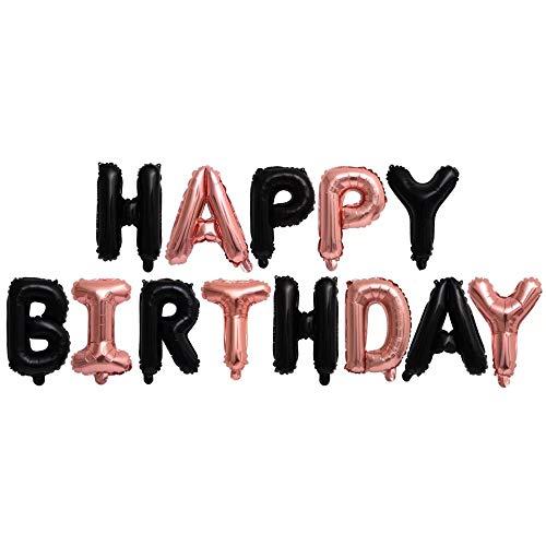 Thematys Happy Birthday Party Ballon - luchtballonnen in 15 volwassenen en kinderen verjaardagen Kleurrijk 1