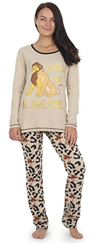 Disney Pijama Rey León para Mujer, Pijama Mujer, Pijama De