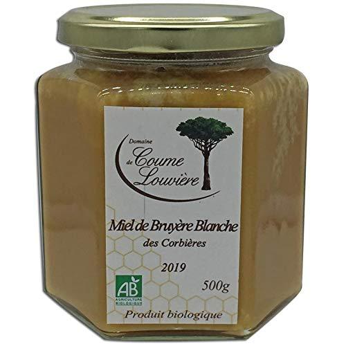 Miel Bio de Bruyère Blanche des Corbières 500 g