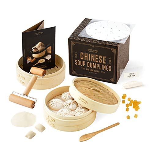 The Original Chinese Soup Dumpling Kit | 6 Piece DIY Kit | Gifts for Foodies, Cooking Gifts for Men & Women, and Unique Chef Gifts