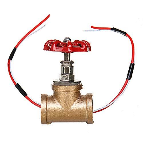 KingLan Vintage Steampunk Interruptor De Luz De Válvula De Parada De 3/4 De Inch con Cable para Lámparas De Tubería De Agua