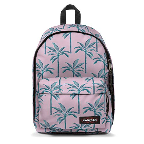 Eastpak Out of Office Zaino, 44 cm, 27 L, Rosa (Brize Trees)