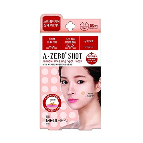 MEDIHEAL(メディヒール) A-zero Shot Trouble Dressing Spot Patch Clear Spot Patch