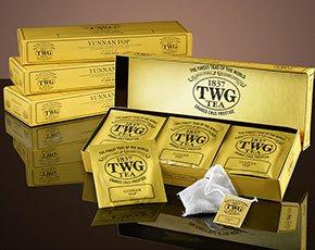 シンガポールの高級紅茶 TWGシリーズ 並行輸入品 (Magic Flute Tea(マジックフルートティー 1箱))