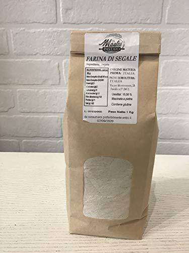 Farina di Segale - Contiene glutine - 1 confezione da 1 kg