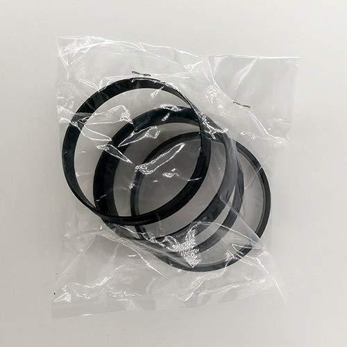 XICION 72.6-66.6mm 20pcs plástico Negro Cubo de la Rueda Anillos Centric for Mercedes Benz Audi Llanta de Piezas de Accesorios del Coche (Color : Polybag Package)