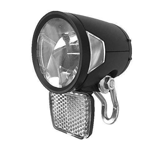 Herrmans H-BLACK MR8 Dynamo LED Scheinwerfer 180 Lumen mit Nirohalter