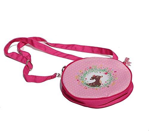bb-Klostermann Kinder Handtasche Alpenglück Bambi 2 Farben Umhängetasche (rosa)