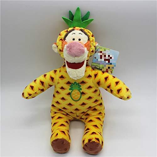 danyangshop Peluches 1 Pieza 35Cm = 13.7 Pulgadas Animal Lindo Tigger Dress Up Piña Bebé Tigre Peluches Peluches Niños Niña Brithday Baby Gift Toys