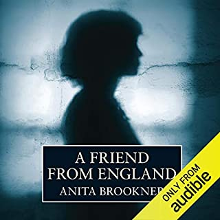 A Friend from England audiobook cover art