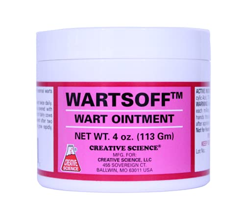 Creative Science Wartsoff Wart Removal Ointment   4 oz