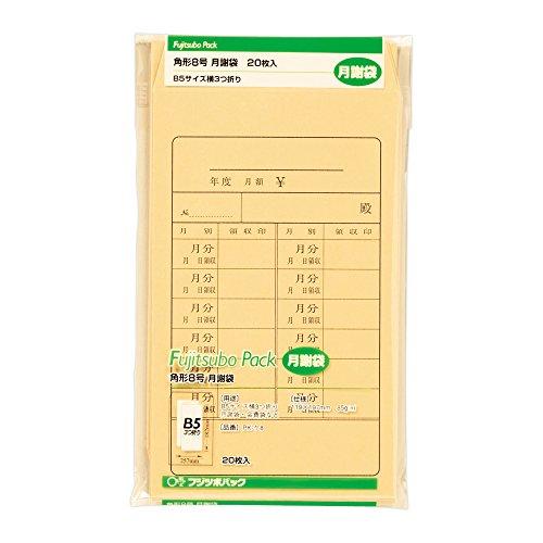 マルアイ『藤壺パック 角8 月謝袋(PK-ケ8)』