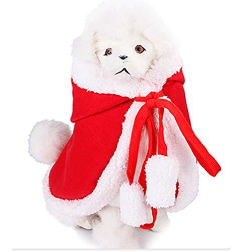 Modieuze huisdier kleding S/M/L hond kerst sjaal mantel warme kleine hond winter kleding gemakkelijk schoon te maken