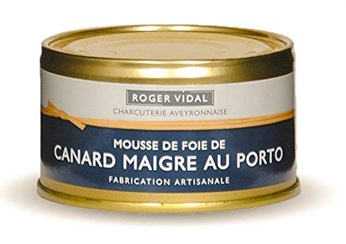 Roger Vidal - Pastete Entenleber mit Portwein (Canard Maigre au Porto) 125 g