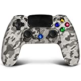 Controlador inalámbrico Proslife para PlayStation 4/Pro/Slim consoles Touch Panel Joypad con doble...