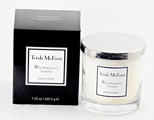 Trish McEvoy Vela Perfumada De Zarzamora Salvaje Y Vainilla - Medio 7oz (210ml)