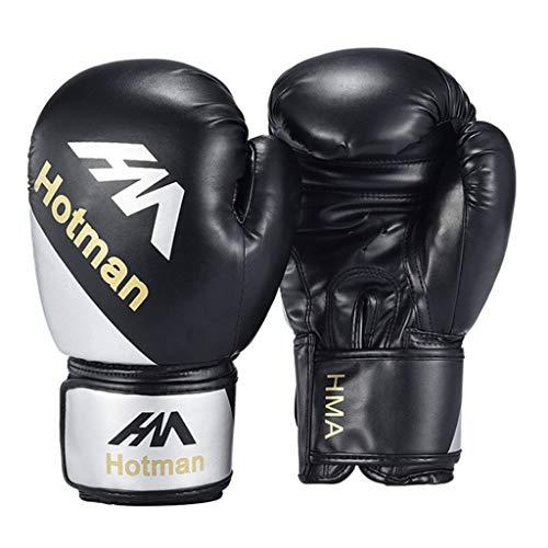 JIAAN Kickboxhandschuhe Boxhandschuhe 10Oz - Männer,Frauen,Kids Kickboxen Boxen Muay Thai MMA Kampfsport Boxsack Kickboxen Training Sparring Sandsack Boxing Gloves Boxhandschuhe