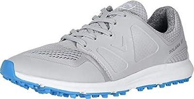 Callaway Women's Solana XT Golf Shoe, Grey, 10