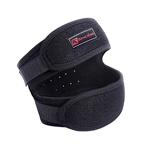 Cinturón de rótula Kyncilor 1 par Las nuevas rodilleras elásticas de bambú de doble cara de carbón para mantener el calor al volante Rodilleras de coche eléctrico Rodilleras de voleibol Rodilleras d