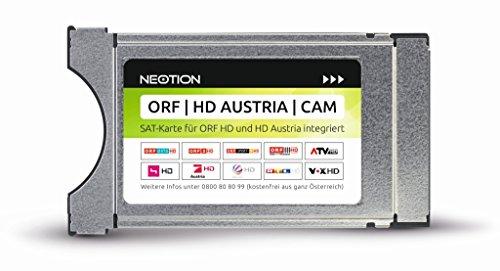 ORF, HD Austria, CAM-TV-Modul mit integriertem SAT-Karten-Chip für ORF und HD Austria (Keine Karte mehr nötig)