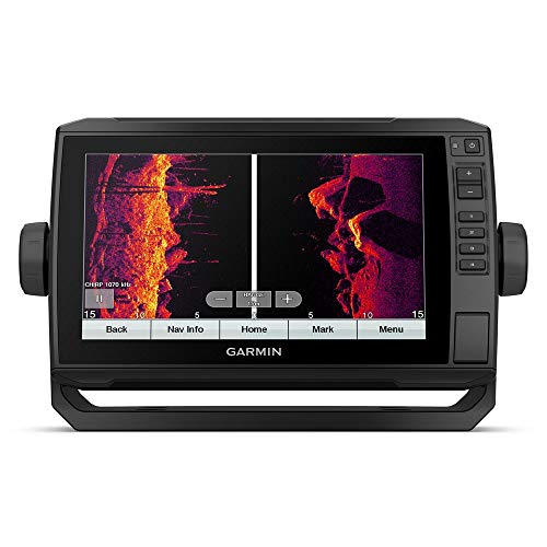 Garmin ECHOMAP UHD Fischfinder Bildschirmgröße 9 Zoll, Echolot integriertes Chirp, UHD ClearVü & UHD SideVü, einschließlich Geber Ja, GT56UHD-TM
