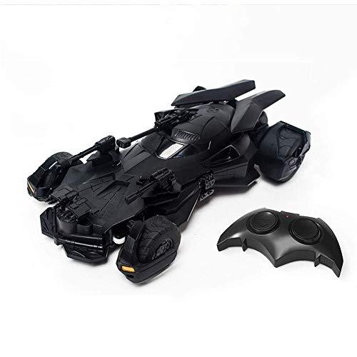 Remoto Recargable de Radio del Coche del Control de una y dieciocho Batimóvil 2.4G RC del vehículo del Truco niños con Control Presentes Racing eléctrica for Niños Niñas Liga de la Justicia Batman