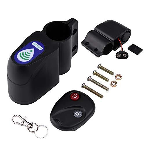 Demeras Candado inteligente sin llave, alarma antirrobo, accesorio para bicicleta de carretera