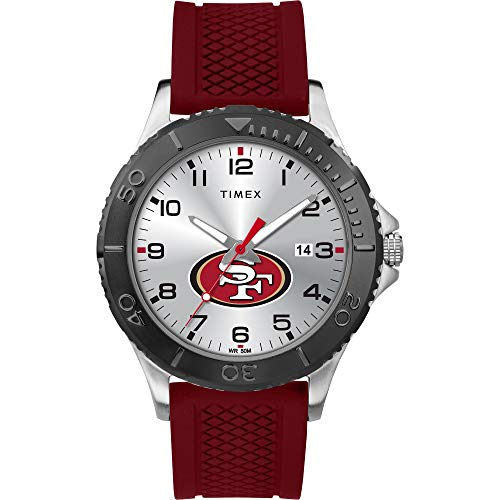 Timex Men's TWZFFORMG NFL Gamer San Francisco 49ers Watch