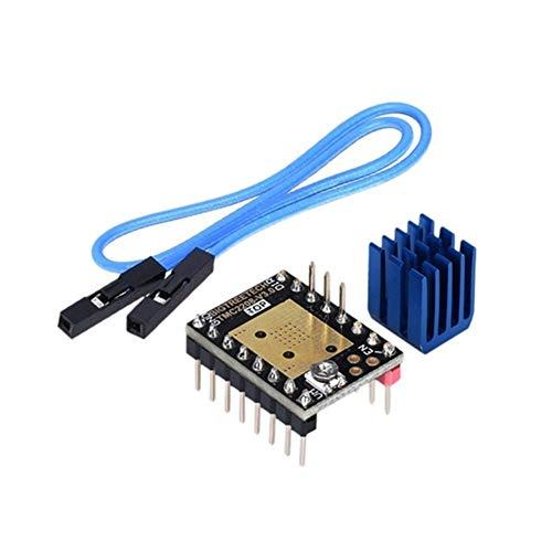 ZXC Tmc2208 V3.0 Stepper Motor Stepstick Mute Driver 3D Printer Parts Tmc2130 Suit Skr Mks Gen Ramps 1.4 (Color : As shown)