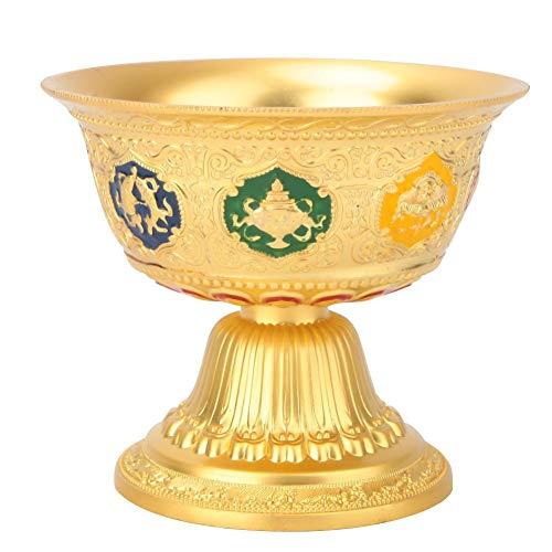 Budismo Cuenco de suministro de agua Cobre puro Tíbet Budista Taza de