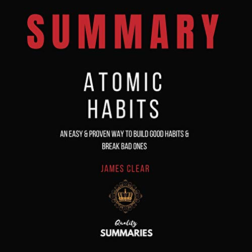『Summary: Atomic Habits by James Clear』のカバーアート