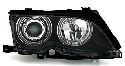 CCFL-Angel-Eyes-Scheinwerfer-in-Klarglas-Schwarz