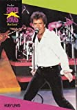 1991 Pro Set SuperStars MusiCards NonSport #63 Huey Lewis Official Licensed Standard Sized Trading Card of some of the greatest Super Stars in Music History