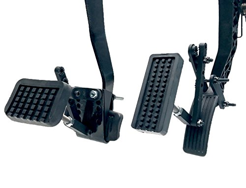 Able Motion Mobility PX2.0 Black Pedal Enhancement Extender