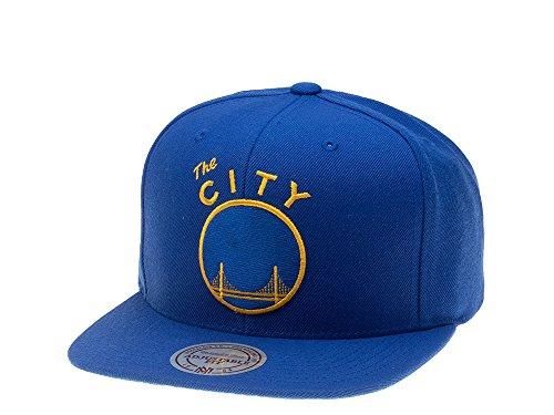 Mitchell & Ness Gorras Golden State Warriors Wool Solid Blue Snapback