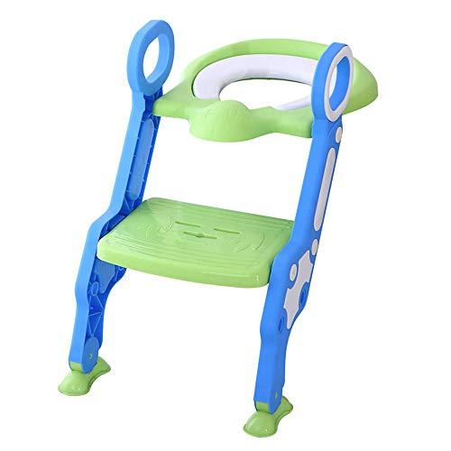 Reductor WC niños Aseo Asiento con Escalera, Orinales para niños, 2 Escalones...