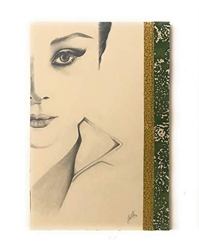 CUADRO Audrey Hepburn 2 pintado a mano