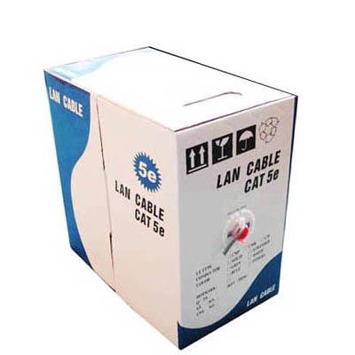 Anbel LAN por Cable (Cable de Datos CAT5E), Aluminio Revestido de Cobre (CCA), Acero Revestido de Cobre (CCS), Longitud: 305M, Diámetro: 0,38 mm-0.4mm (Color : Color3)