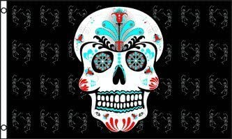 Sugar Ranking TOP6 Skull 3x5 Selling and selling ft Polyester Flag