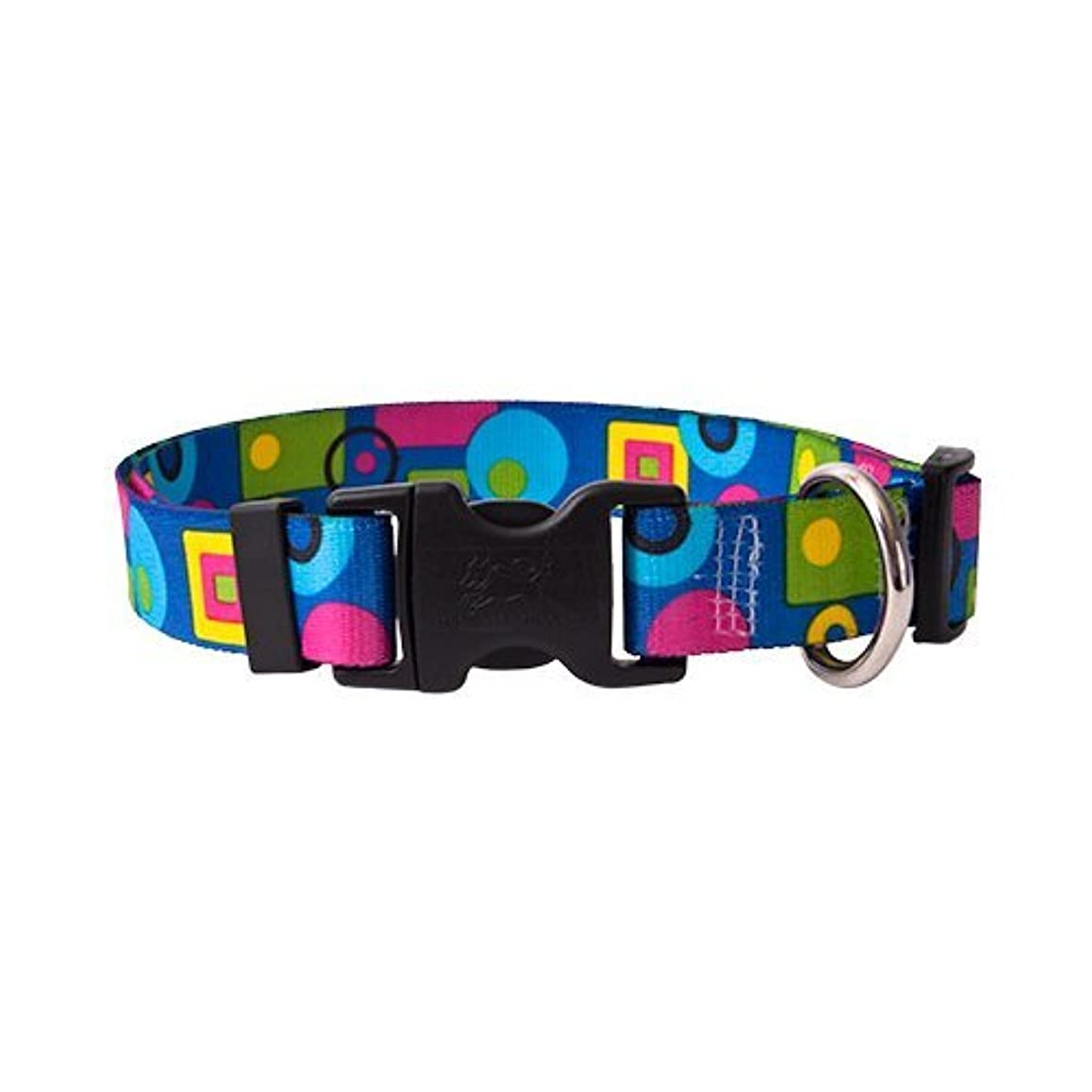 Yellow Dog Design Standard Dog Collar Geometric