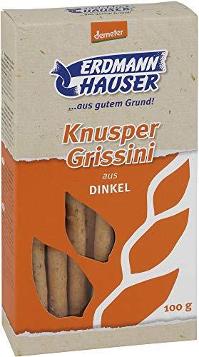 ErdmannHAUSER Getreideprod Bio ErdmannHAUSER demeter Dinkel-Grissini (2 x 100 gr)