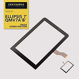 New Glass Lens Panel Touch Screen Digitizer Replacement for Verizon Ellipsis 7 QMV7A QMV7B inch Tablet
