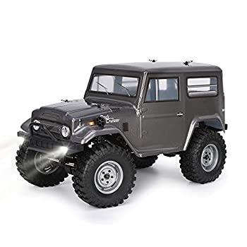 RGT Rc Crawlers 1/10 Scale 4wd 4x4 Off Road Racing Rock Crawler Water Resistance Rock Cruiser with Remote Control - Black  New Adventure 136100G