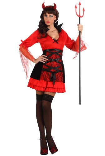 Atosa 10347 carnavalskostuum, dames, meerkleurig