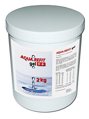 AQUA REFIT Wasserkern Vergelung in Wasserbetten, Gelbetten - Wasserbett Gel Granulat Pulver (2 kg)