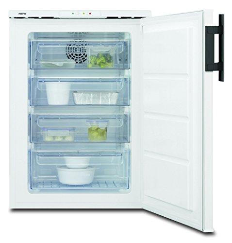 Electrolux EUT1040AOW - Congelador (Vertical, Independiente, Color blanco, A+, SN, ST, T, No)