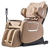 BestMassage Full Body Zero Gravity Shiatsu Massage Chair Recliner w/Heat and Long Rail